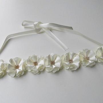 faixa criança headband bebe noiva tiara
