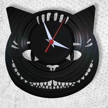 Gato - Alice- Relógio de Parede