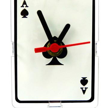 Relógio de Mesa Decorativo - Spades