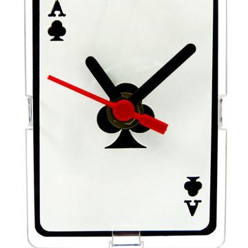 Relógio de Mesa Decorativo - Clubs