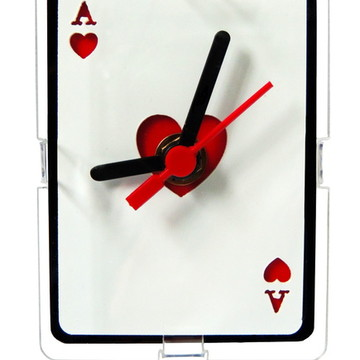 Relógio de Mesa Decorativo - Hearts