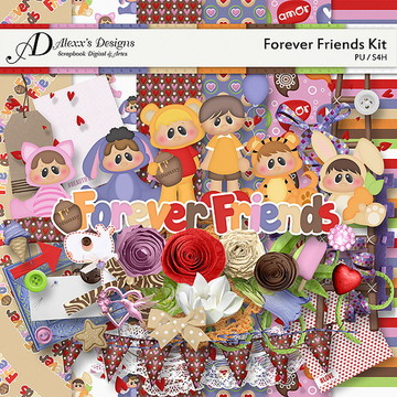 Kit Digital Forever Friends