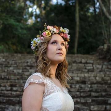 Coroa de Flores Louy