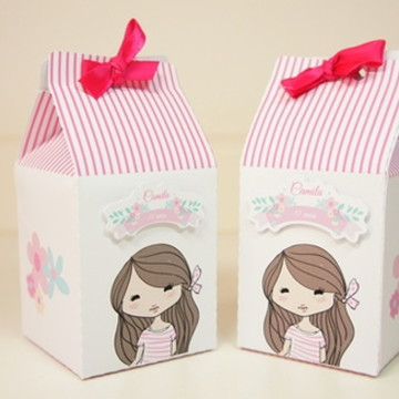 Caixa Milk Menina