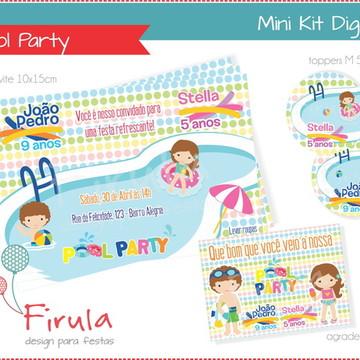 Mini Kit Digital Pool Party