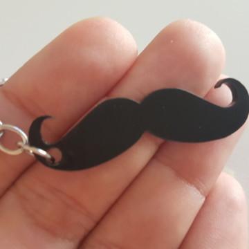 Chaveiro mini Mustache / Bigode