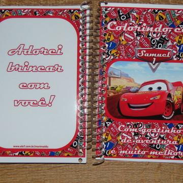 Mini Caderno de Colorir 14*10 cm