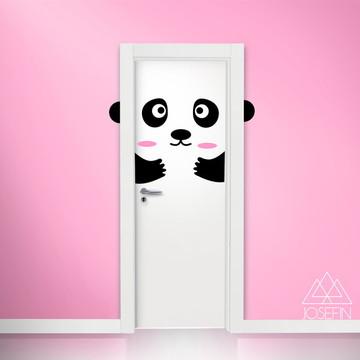 Adesivo Panda Door A0143