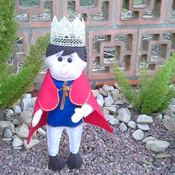 Rei Arthur em feltro