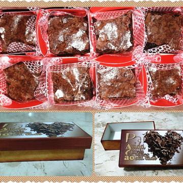 Caixinha de brownies (pai doce)