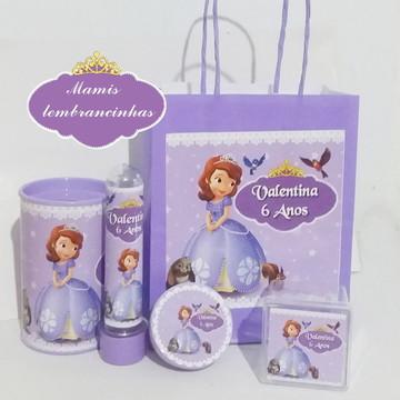 Kit Princesinha Sofia (5 Itens)