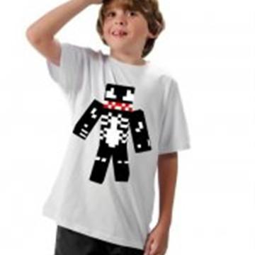 Camiseta Minecraft Vemon Skin