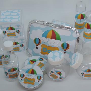 Kit Festa Personalizada Balões 180 itens