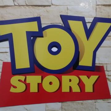 Placa em pvc Toy Story