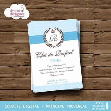 Convite Digital - Príncipe Provençal