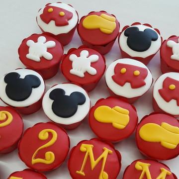 Mini cupcake Mickey