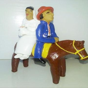 Noivos à Cavalo