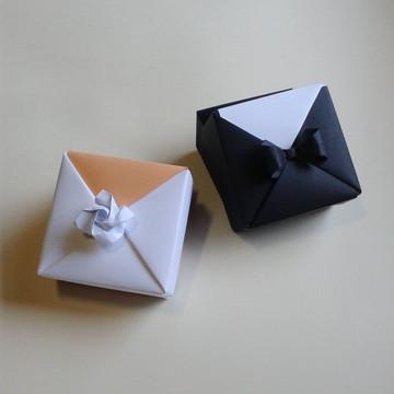 Caixa de Origami Noivos - PAR