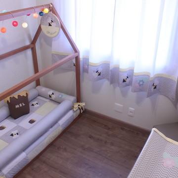 Kit rolinhos para cama montessoriana