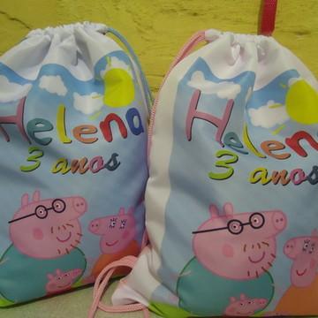 mochilas de poliéster personalizadas