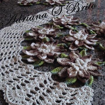 Caminho de mesa flor de Lótus