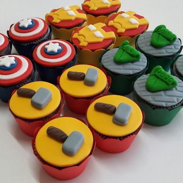 Mini cupcake Vingadores