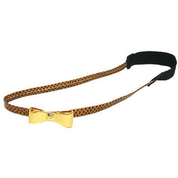 Headband Laço Dourado
