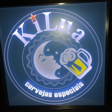 Luminária de Parede Logomarca Cervejas