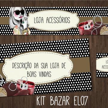 kit Elo7 acessórios (BAZAR)