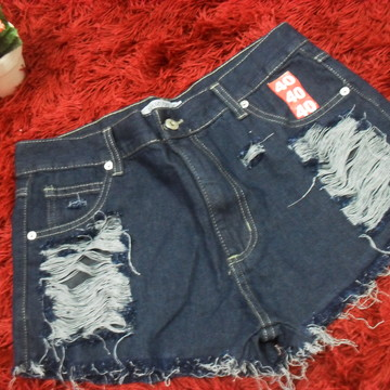 0de04d6e37 Short Jeans Destroyed Customizado