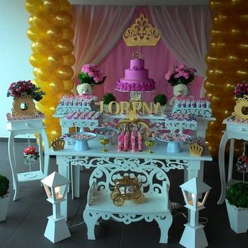 Locação decoração ursa princesa