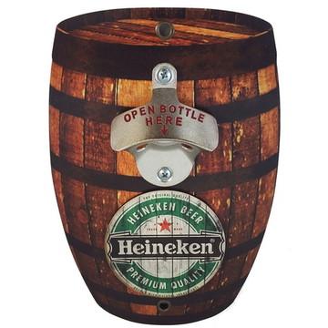 Abridor de Garrafas de Parede Heineken