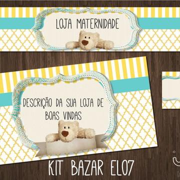 kit Elo7 maternidade (BAZAR)