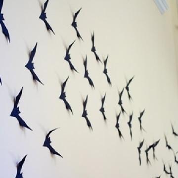 Morcegos de papel 20 unidades
