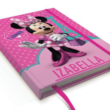 Caderno Minnie A5 Personalizado