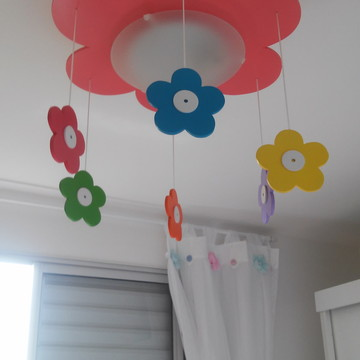 luminaria infantil flor de primavera