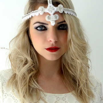 Headband Noiva Princess