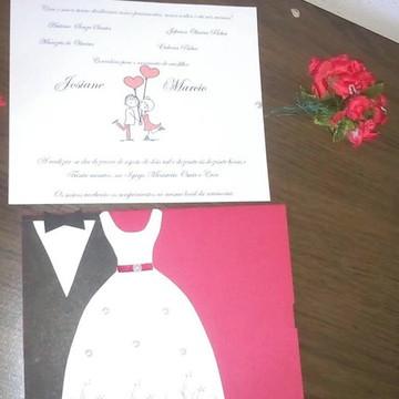 convite dos noivos
