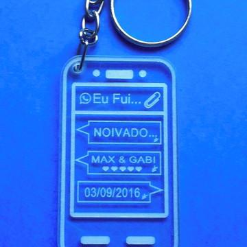 Chaveiro Smartphone Bodas/Noivado
