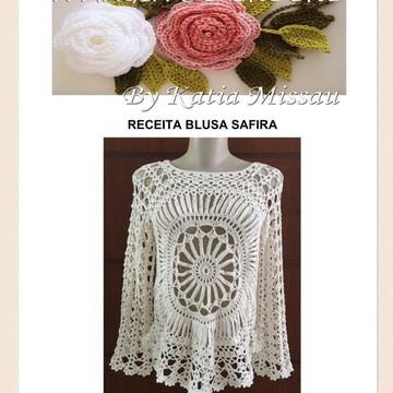 Receita Blusa Safira - PDF
