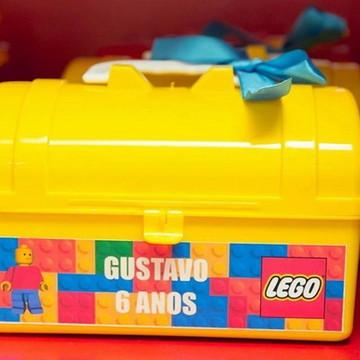 Maletinha personalizada Tema Lego