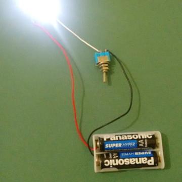 circuito de LED-1 lâmpada-1 luminária