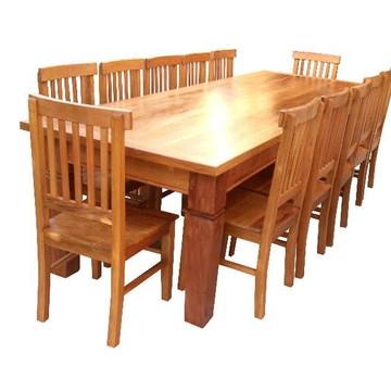 Jogo de Mesa Jantar 12 Cadeiras cód:382