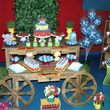 Decoração de Festa Infantil Rústica