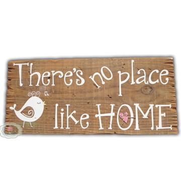 Placa Rústica Place like Home 15% OFF