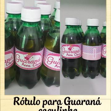 Rótulo de Guaraná Peppa Pig