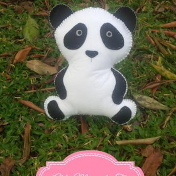 Panda 2D em Feltro