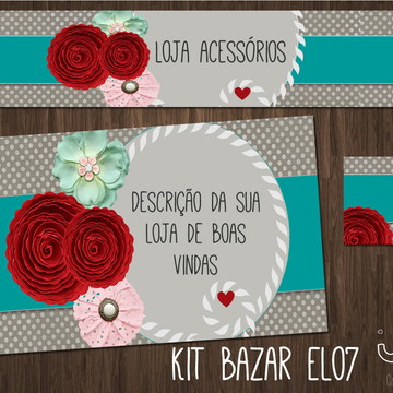 kit Elo7 delicado (BAZAR)