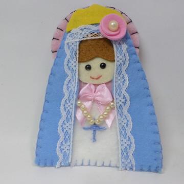 Chaveiro feltro Nossa Senhora do Rosário