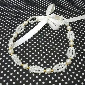 Headband/ tiara noiva Pérolas